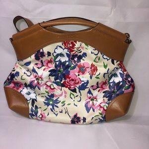 Emma and Sophia floral purse
